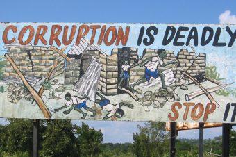 No more corruption!