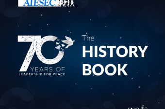 AIESEC launches its official History Book