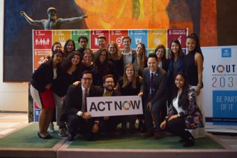 We won't take no for an answer, the only way to achieve the SDGs is together.